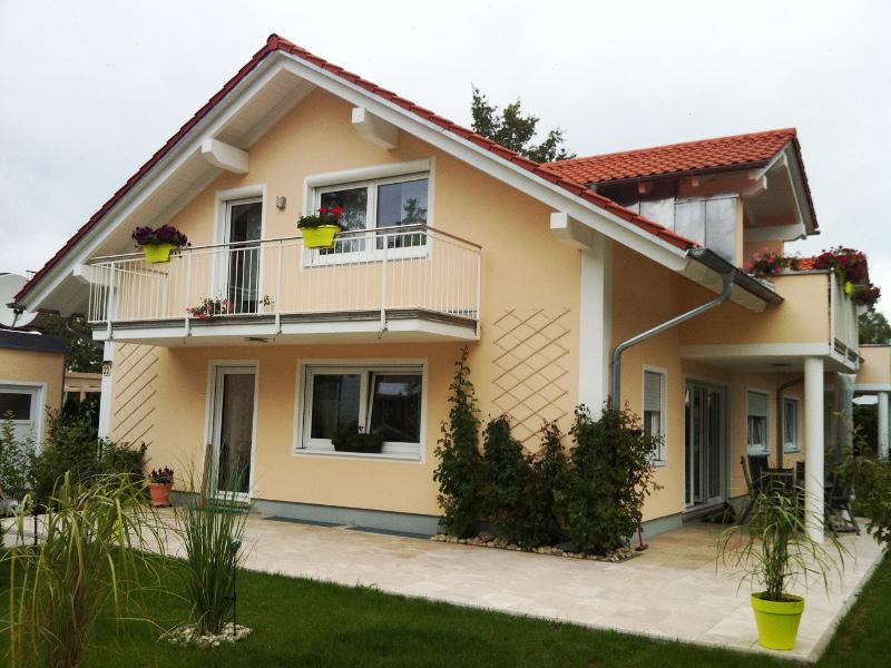 Fassadensnstrich Einfamilienhaus